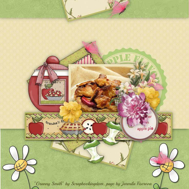 """Granny Smith"" by Scrapbookingdom, https://www.etsy.com/au/listing/195491475/digital-scrapbook-kit-cooking-bakingmake?ref=shop_home_active_2, photo Pixabay"
