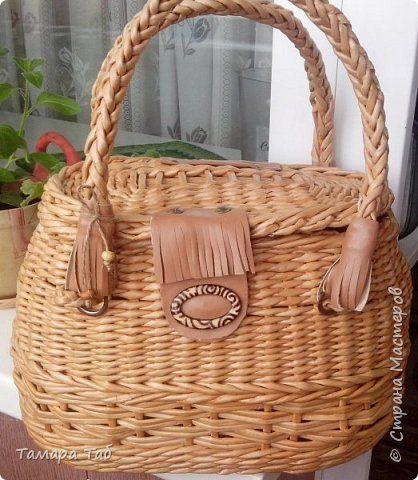 Моя первая сумка, размер по донышку 30*18* высота 20см фото 4