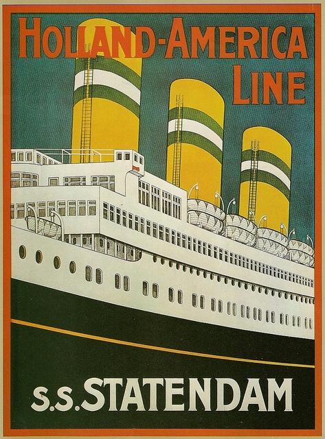 Holland-America Line (S.S. Statendam)