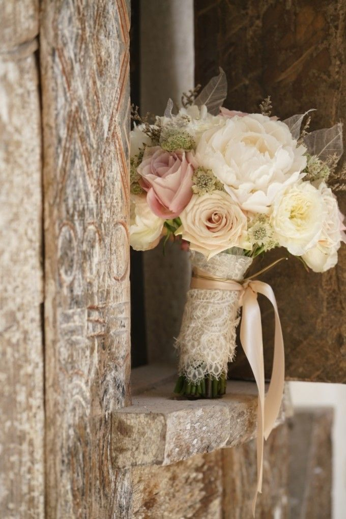 This gorgeous flower bouquet for your wedding flowers ideas   An Elegant Flowery Wedding With Shades Of Blush And Champagne   http://www.bridestory.com/blog/an-elegant-flowery-wedding-with-shades-of-blush-and-champagne