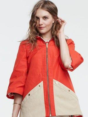 LM CoatMoffatt Spring, Fashion, Lauren Moffatt, Buckets Seats, 2012 Spring, Colors Coats, Spring 2012, Cute Rain Coats, Birthday Gifts