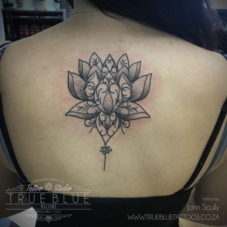 """Lotus Mandala"" by John Scully of True Blue Professional Tattoo Studio"