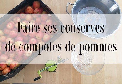 Faire ses conserves de compote de pommes blog la cuisine de circee en 2019 conserve de - Conserver de la compote maison ...