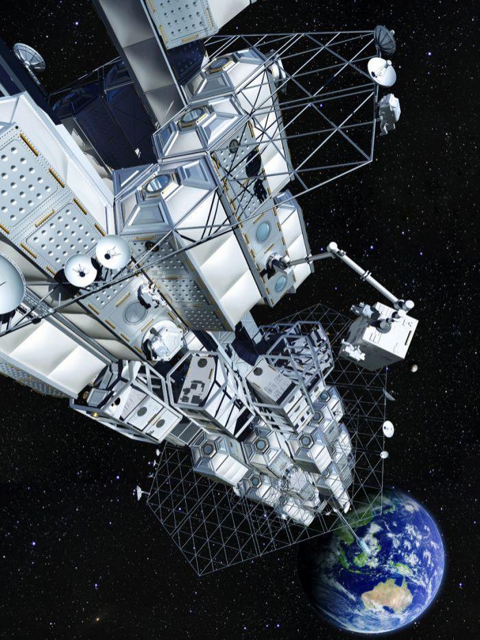 Japanese space elevator
