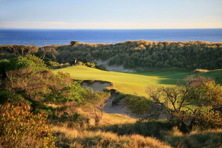 PowerfulGolfTips.com - Barnbougle Dunes in northern Tasmania (the southernmost state in Australia) is an amazingly beautiful and frighteningly challenging golf course. #golfcourses #golf