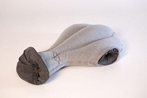 The Ostrich, A Pillowy Sleep Cocoon For Your Head