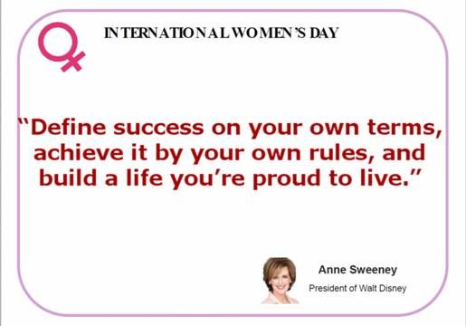 Anne Sweeney quote.