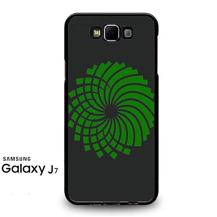 Green Party Logo Grey Samsung Galaxy J7 Prime Case