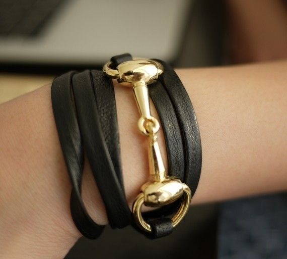 Horse Bit Wrap Bracelet And Other Equestrian Inspired Accessories