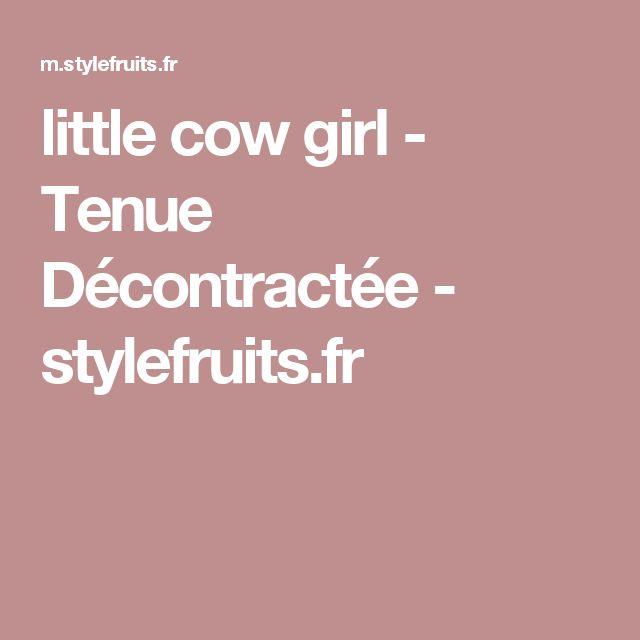 little cow girl - Tenue Décontractée - stylefruits.fr