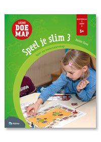 Speel je slim 3: verzameling gezelschapsspellen voor kinderen van 5 jaar en ouder. getalbegrip tot 6 ontwikkelen, hoeveelheden tot 10 leren tellen, allerhande begrippen leren verwerven, auditieve taalvaardigheden stimuleren, denkontwikkeling stimuleren, ruimtelijk inzicht stimuleren, ...