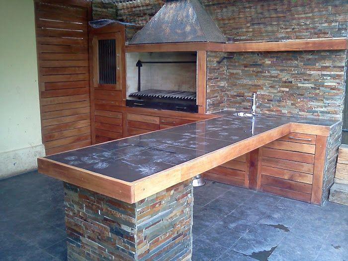 M s de 25 ideas incre bles sobre asadores ladrillo en for Sodimac terrazas chile