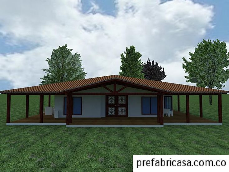 Modelos de casas prefabricadas for Modelos de casas de campo modernas