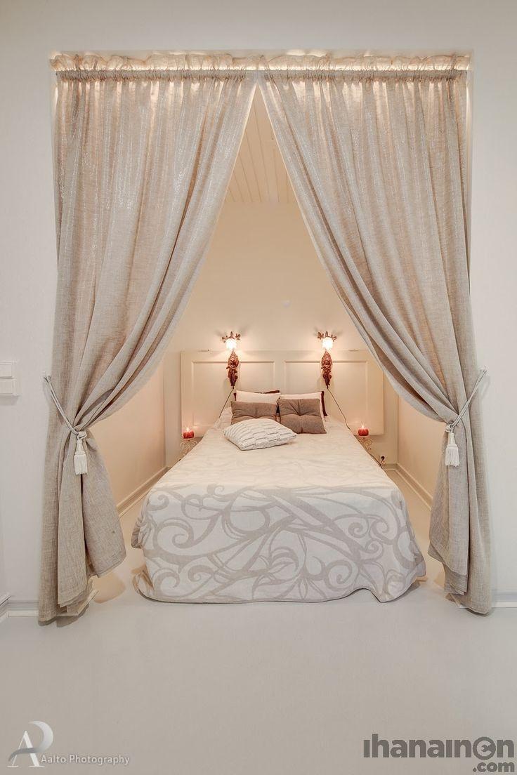 Ihanainen.com sisustussuunnittelu. Makuuhuone näkymää Helmiina-kodin sisustuksesta. #sisustus #sisustussuunnittelu #tampere #bedroom #makuuhuone