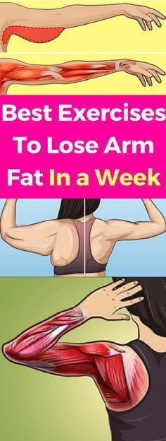 Best Exercises To Lose Arm Fat In a Week!