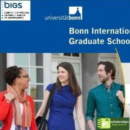 BIGS Scholarships for German and Non-German Applicants , and applications are submitted till 15 December 2017 for admission in April or October 2018. The application page will open in early October. The next deadline after that will be 15 May 2018 for admission in October 2018. http://www.scholarshipsbar.com/bigs-scholarships.html