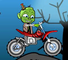 Zombie Baby Bike-- A super Motorbike game of Zombie racing. Try to help zombie in driving. Collect all the ice cream falling from truck. Score Maximum on board.
