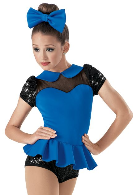 Weissman Costumes Sequin Peplum Leotard. This would be super cute on my little cousin!
