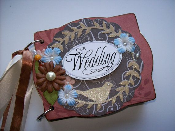 Wedding Scrapbook Mini Album w Pocket Pages by59 best Wedding mini albums images on Pinterest   Mini albums  . Premade Wedding Scrapbook. Home Design Ideas