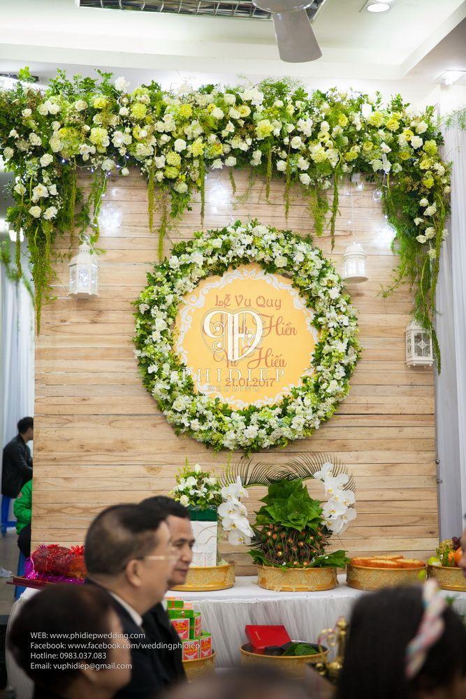 Báo giá các gói dịch vụ trang trí đám cưới tại nhà và các gói trang trí đơn lẻ, trang trí nhà ngày cưới, ngày ăn hỏi, đón dâu tại Phi Điệp Wedding