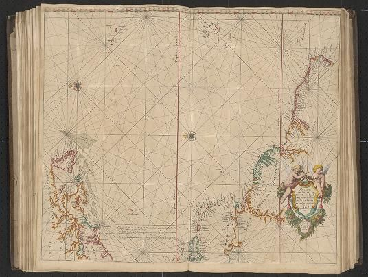 Page 20 Zee-atlas; Colom, Arnold 1656?  Albert and Shirley Small Special Collections Library, University of Virginia. http://search.lib.virginia.edu/catalog/uva-lib:2287415/view#openLayer/uva-lib:2380021/6456/8576/2/1/0