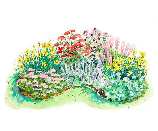 160 best GARDEN Layouts images on Pinterest Garden layouts