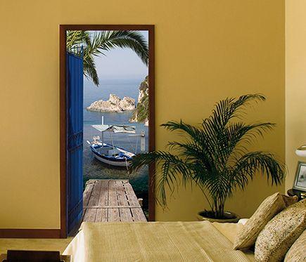 25 best ideas about vinilos para puertas en pinterest for Vinilos pared entera