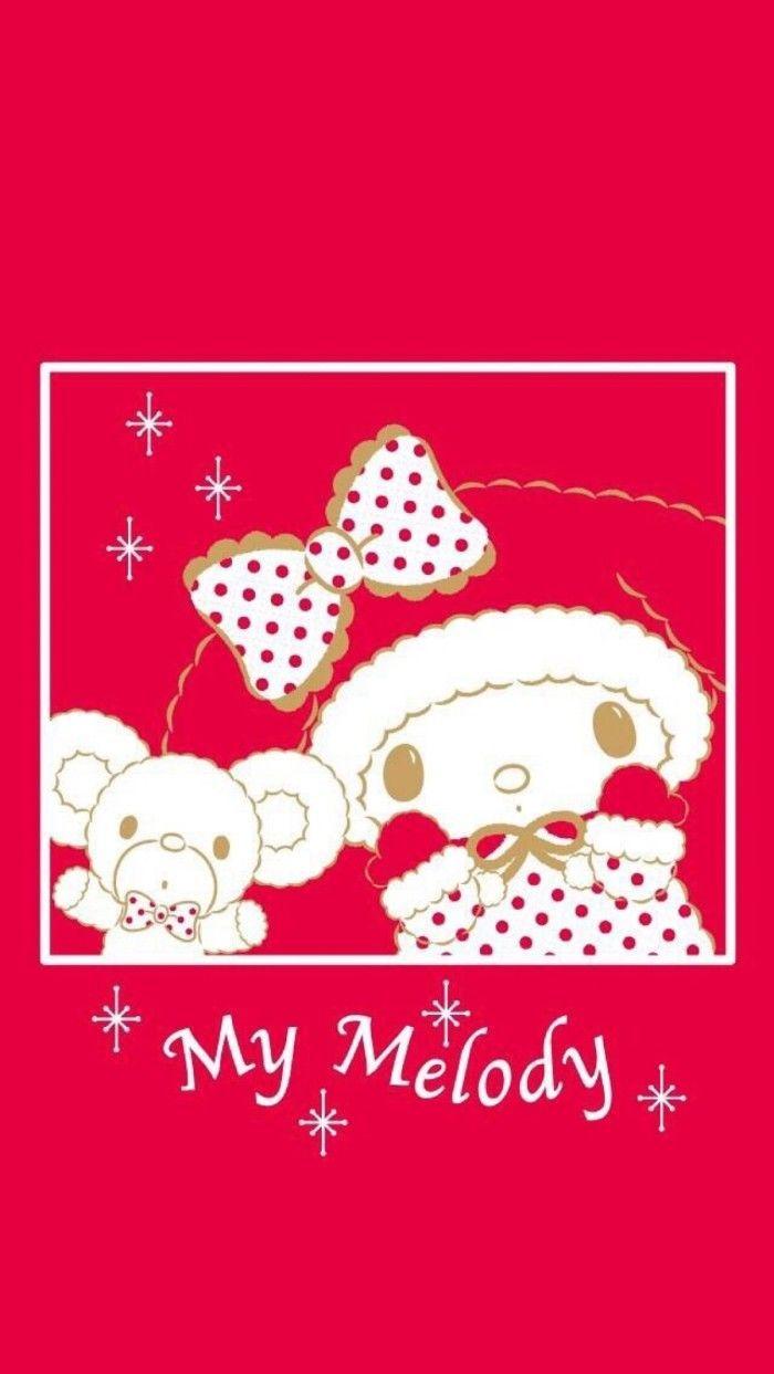 クリスマス かわいい マイメロ マイメロディスマホ壁紙 待ち受け