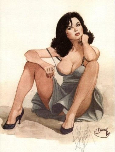 #PhilippeDelaby #Pinup