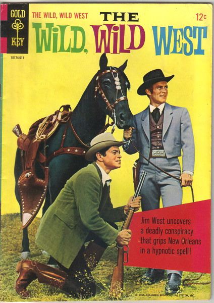 The Wild, Wild West TV Comic Book #2 Variant, Gold Key 1966 FINE+/VERY FINE