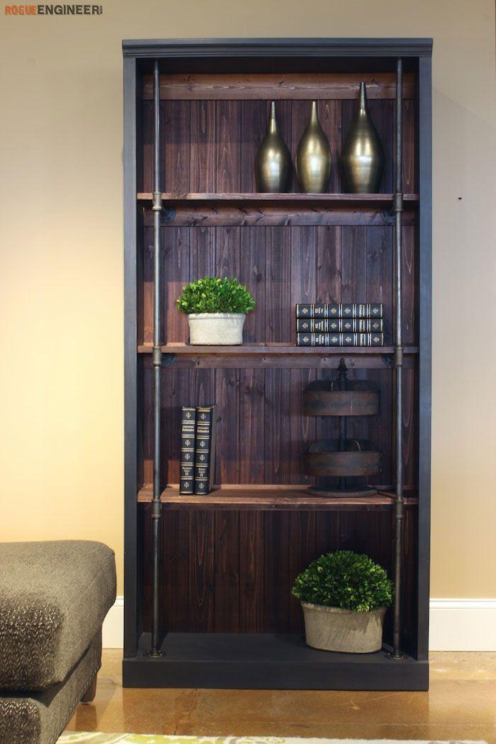 25 best ideas about bookcase plans on pinterest building bookshelves build a bookcase and. Black Bedroom Furniture Sets. Home Design Ideas