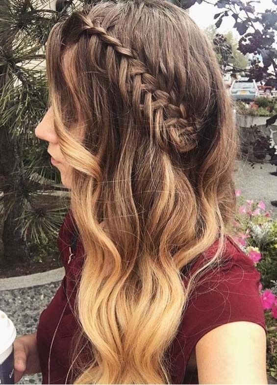 Braid Hairstyles Romantic Braided Hairstyles Games Online Cute Braided Hairstyles For 3 Year Olds Braided H In 2020 Hair Styles Long Hair Styles Braided Hairstyles