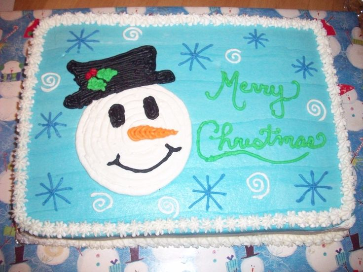 christmas sheet cakes | copied this from someone on this site. I don't remember who, but ...