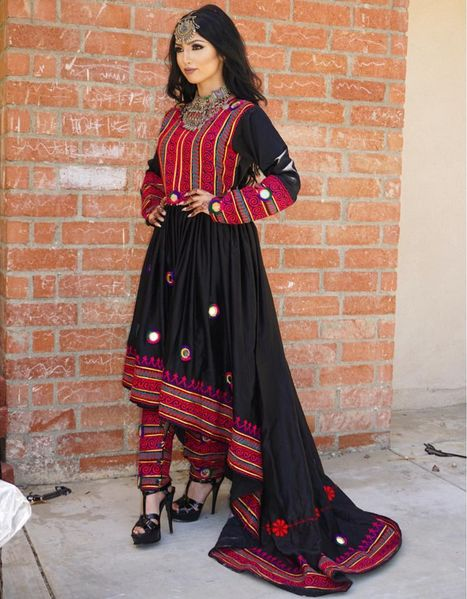 afghan embroidered dresses - Google Search