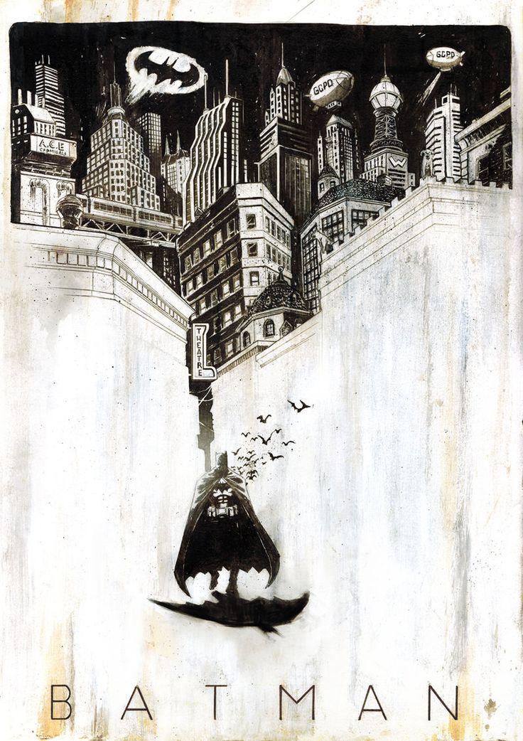 Batman by Tyler Champion