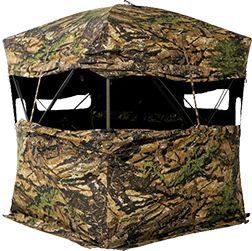 FLI Sporting Goods - Primos Double Bull Double Wide Ground Blind, $399.99 (http://www.flisportinggoods.com/primos-double-bull-double-wide-ground-blind/)