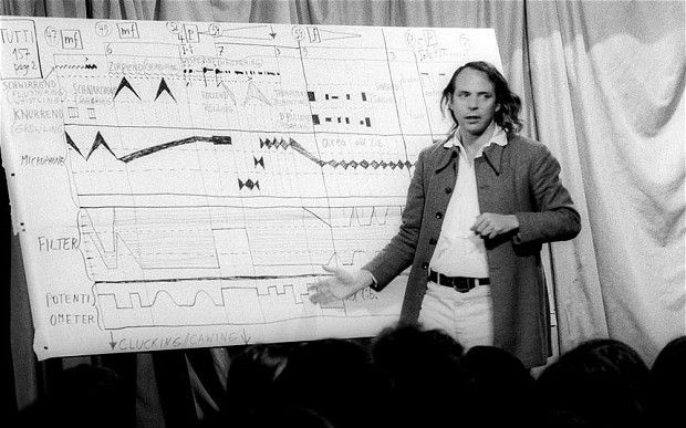 Stockhausen: Meeting the guru of modern music - Telegraph