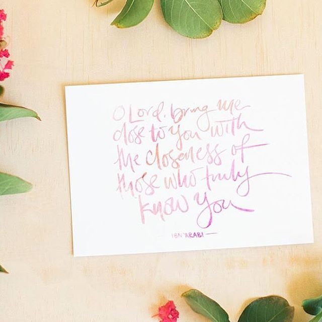 Life Of My Heart — Quran Brush Lettered Quotes, Islamic Wall Art lifeofmyheart.com.au