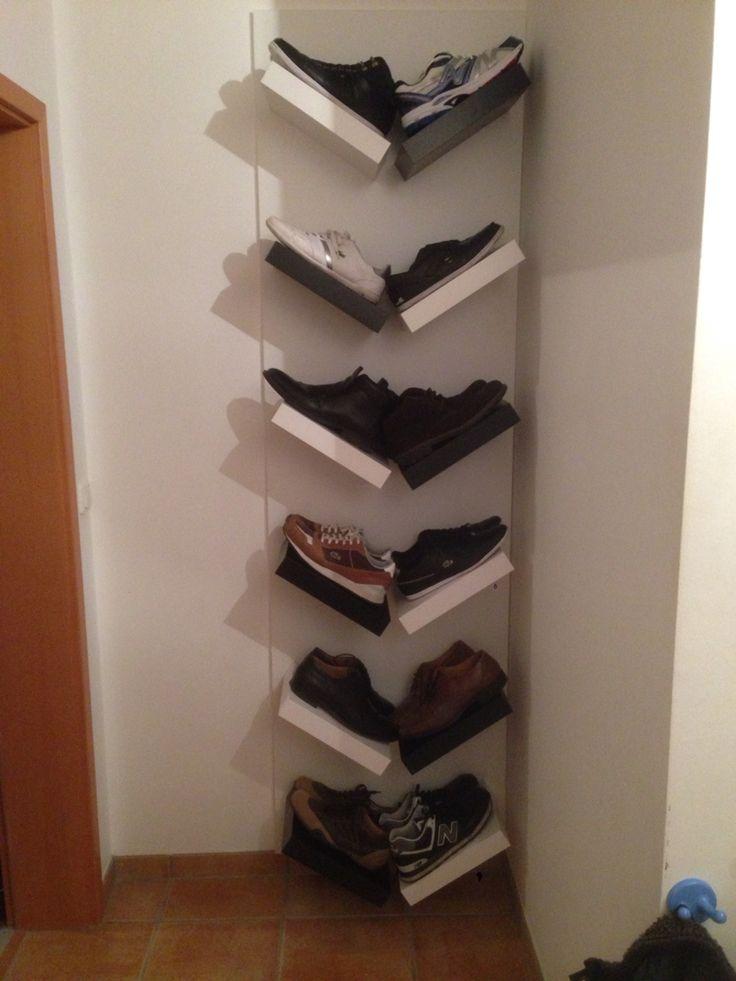 Schuhe mal ordentlich. Schuhregal Ikea Hack