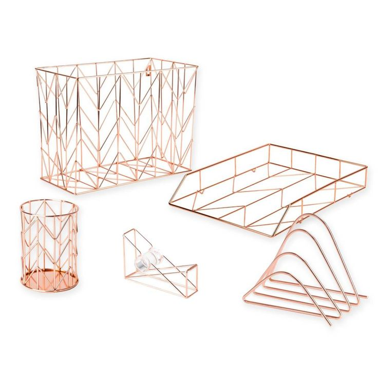 product image for Copper Wire Desk Accessories