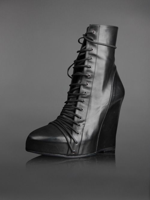 Ann Demeulemeester | #boots