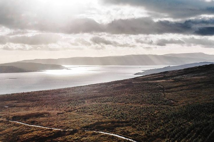 John Muir Way is a new hiking route that traverses the country west-to-east for 134 miles. Pictured here is the Firth of Clyde, close to Helensburgh and the westernmost point of the trail.