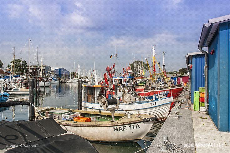 Niendorfer Hafen an der Ostsee