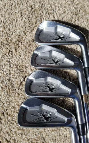 Callaway X Forged 2009 4 Pw Iron Set Stel Golf Club Project X 6