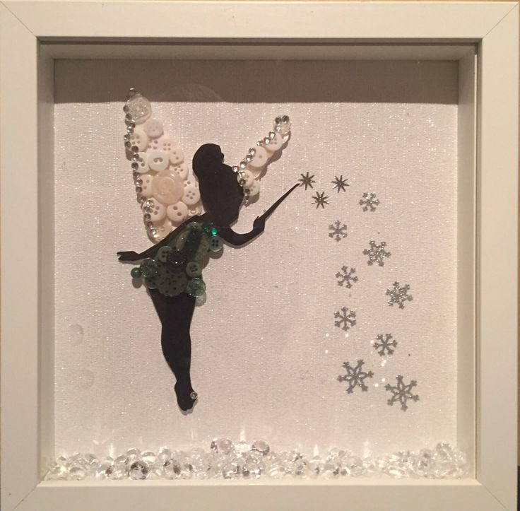 A personal favourite from my Etsy shop https://www.etsy.com/uk/listing/483594320/disneys-tinkerbell-button-art-frame