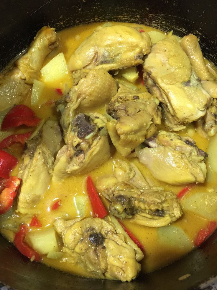 panlasang pinoy how to make chicken.curry