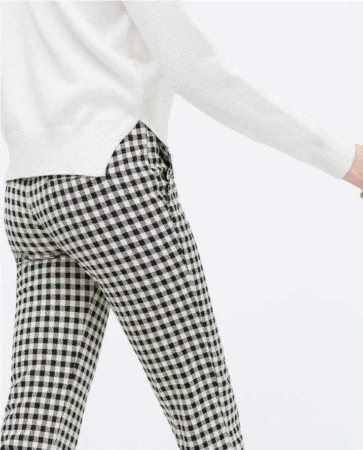 Femme Zara Pantalon Zara Femme Femme Zara Ecossais Pantalon Pantalon Ecossais Femme Pantalon Ecossais Ecossais 4qSc53RLjA