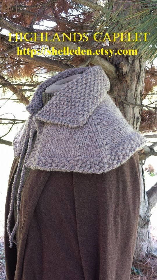Outlander Capelet FREE Shipping in USA by Shelleden on Etsy