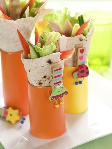 Fiestas infantiles ideas para la merienda decoraciones for Ideas para fiestas infantiles