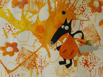 Mine de rien !: Le Loup qui voulait changer de couleurs ...